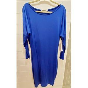 NWT Royal Blue Dolman Dress by JustFab